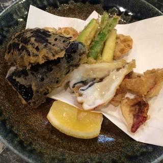 イカゲソとお野菜の天ぷら