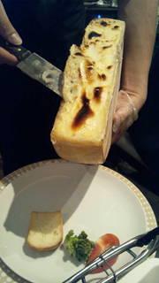 【ディナー】ラクレットとチーズフォンデュと一日に必要な野菜の摂れるコース♪