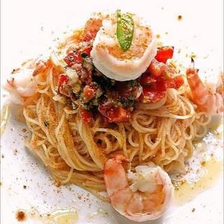 エビとトマトの冷製カッペリーニ