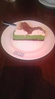 ピスタチオチーズケーキ