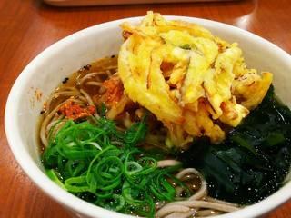 かき揚げ天ぷら蕎麦