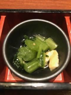 お野菜のお浸し