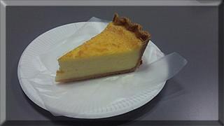 チーズケーキのタルト