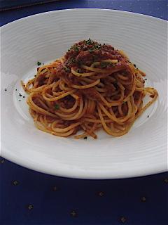 葉山牛のラグー スパゲティ