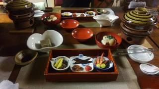 郷土懐石料理コース