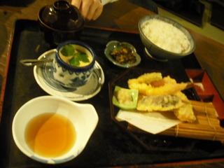 天ぷらセット