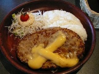 チーズハンバーグディッシュ