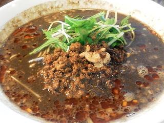 黒胡麻担担麺