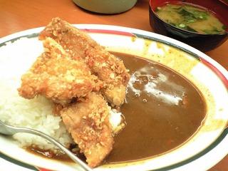 若鶏竜田カレー