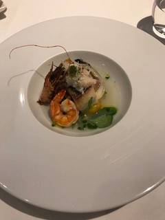 真鯛のソテー 蛤のスープ仕立て