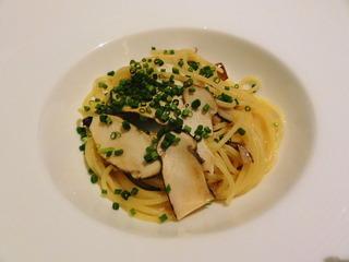 松茸のスパゲッティ