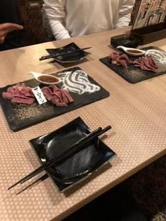 割烹牛のサーロインステーキ