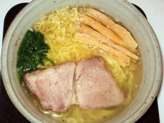 純塩らぁ麺