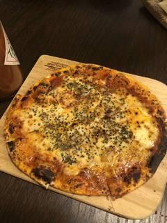 トマトソースのミニピザ