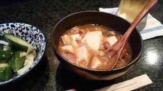 自家製 麻婆豆腐