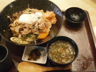 伊賀牛すきやき丼