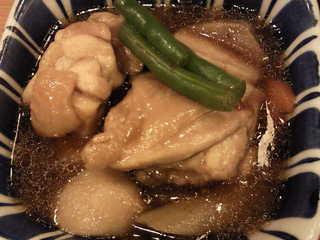 鶏と根菜の治部煮
