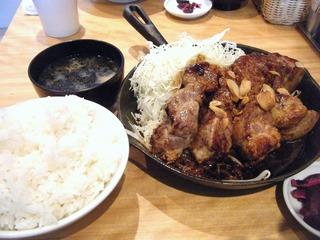 特大トンテキ定食