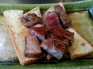 国産ブランド牛ロースステーキ