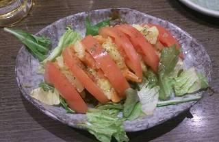 トマトポテトサラダ
