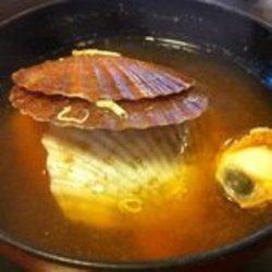 ホタテ椎貝のお味噌汁
