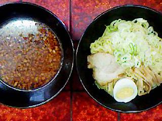 辛口正油つけ麺