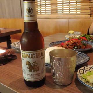 シンハー瓶ビール