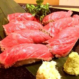 宮崎牛の握り寿司