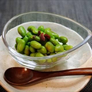 むき枝豆のガーリックマリネ