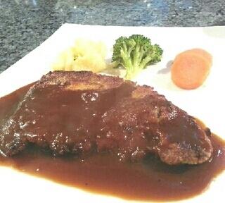 牛肉カツレツ