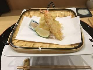 天ぷらの盛り合わせ