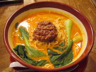 チャーシュー坦々麺