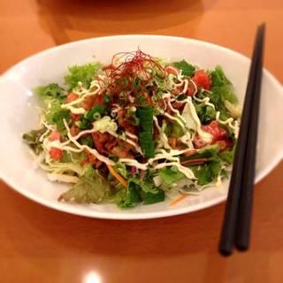 あまから豚肉の上賀茂地野菜サラダ丼