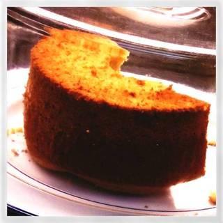 日替りのシフォンケーキ