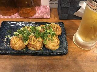 たこ焼き(カレーマヨネーズ)
