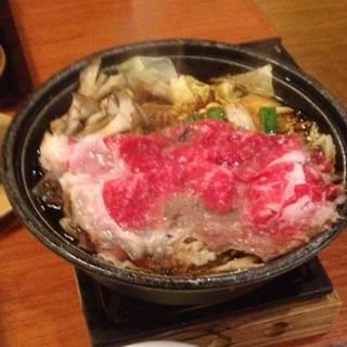 すき焼き(ご馳走御膳)
