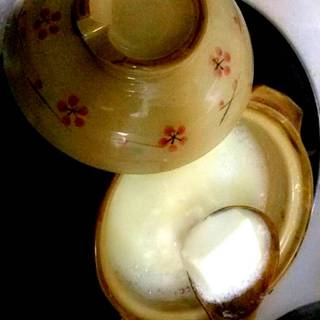 とろふわ白くなる湯トーフ