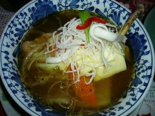インドネシア風スープカレー・チキン