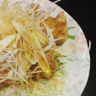 鶏唐ネギソース
