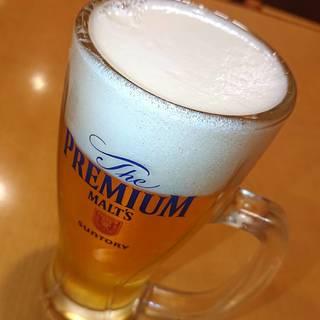 生ビール サントリープレミアムモルツ