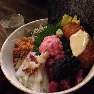 寿司ネタ海鮮丼