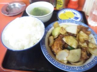 鶏味噌定食