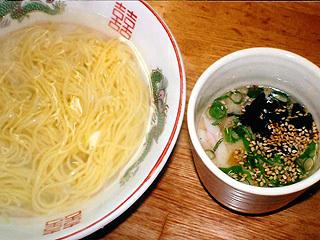 つけ麺(とんこつ味)