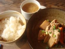 豚肉と根菜のこってり煮