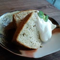ミルクティーのシフォンケーキ