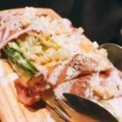 焼きロメインサラダ
