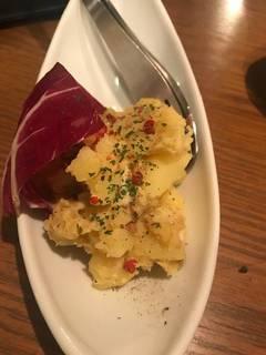 スモークチーズのポテトサラダ