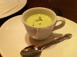ソラマメのスープ