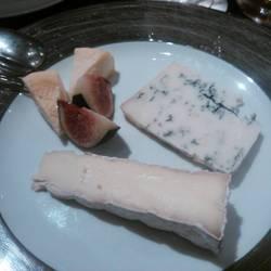 チーズの盛り合わせ