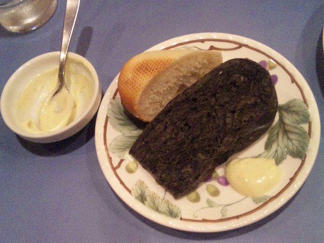 イカスミのパン
